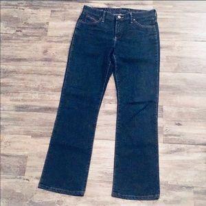 Wrangler Q Baby dark jeans 32 x 31